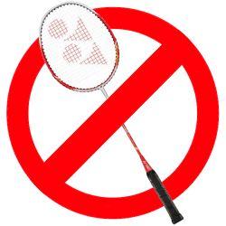 Pas de badminton