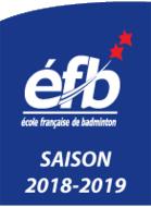 Ecole française de Badminton 2 étoiles