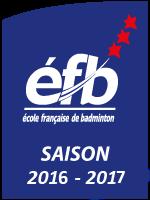 Ecole française de Badminton 3 étoiles